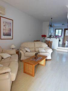 Open plan living area in Bella Vista