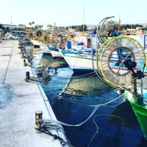 Fishing boats Paphos